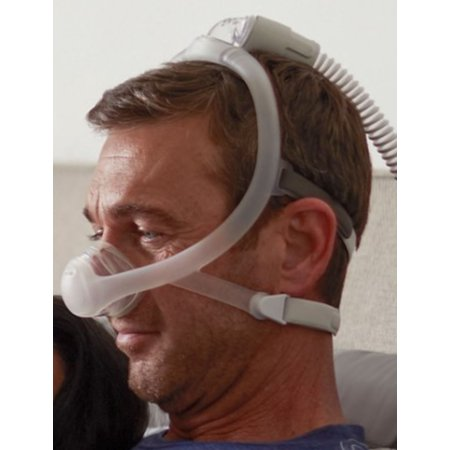 DreamWisp Nasal Fit-Pack (S, M, L included) CPAP Mask with Headgear by Philips Respironics (No Tax)