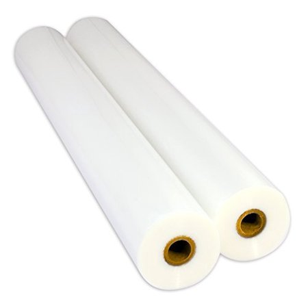 Usi Premium Thermal Low Melt Eva Laminating Film  1   Core  27  X200 Feet  5 Mil  Clear Gloss  2 Rolls