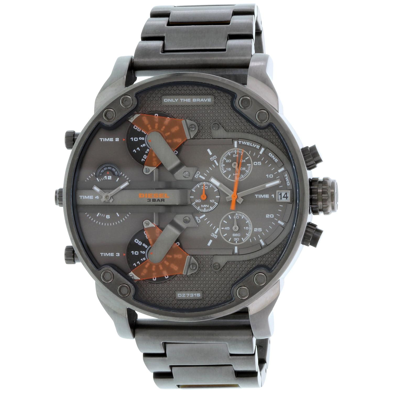 Diesel Men's Mr. Daddy 2.0 4 Time Zone Oversize Watch DZ7315