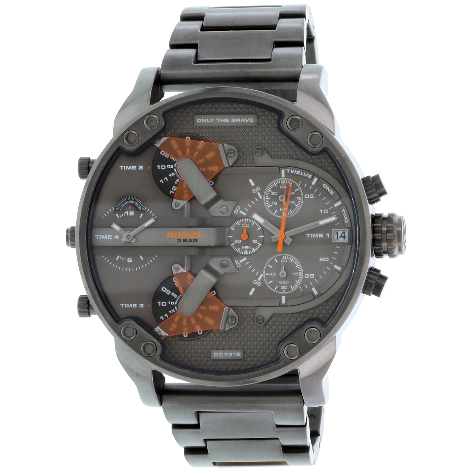 Diesel Men's Mr. Daddy 2.0 4 Time Zone Oversize Watch DZ7315