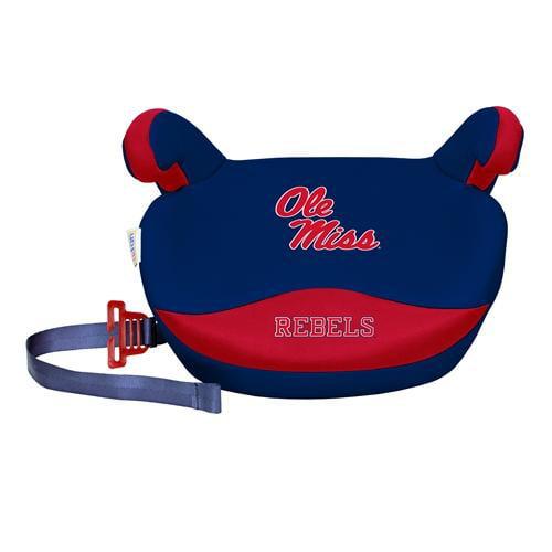 NCAA Backless Booster Seat by Lil Fan, Slimline - Ole Miss