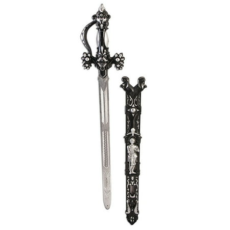 Black King'S Sword Halloween Costume Accessory - Costumes With Swords