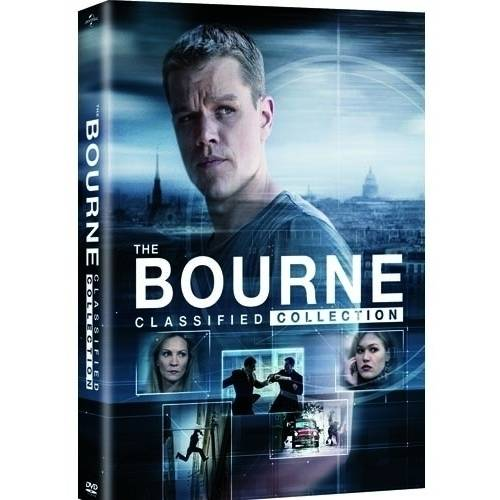 The Bourne Classified Collection: Bourne Identity / Bourne Supremacy / Bourne Ultimatum / Bourne Legacy (DVD + Movie Money) (Walmart Exclusive)