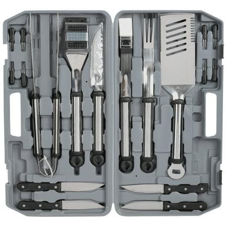 Mr Bar B Q Original Gourmet Stainless Steel Tool Set 18 Pc Pack