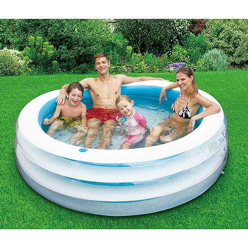 "80"" Round Inflatable Pool"