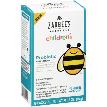 Zarbee S 174 Naturals Children S Probiotic Supplement 18 Ct