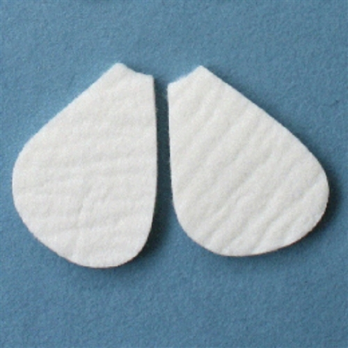 MooreBrand Pedi-Pads Felt #106-A Metatarsal 1/8 Inch-Left Right-Pack of 100