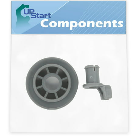 165314 Dishwasher Lower Dishrack Wheel Replacement for Bosch SHE46C06UC/43 Dishwasher - Compatible with 00165314 Lower Rack Roller - UpStart Components Brand - image 2 of 4