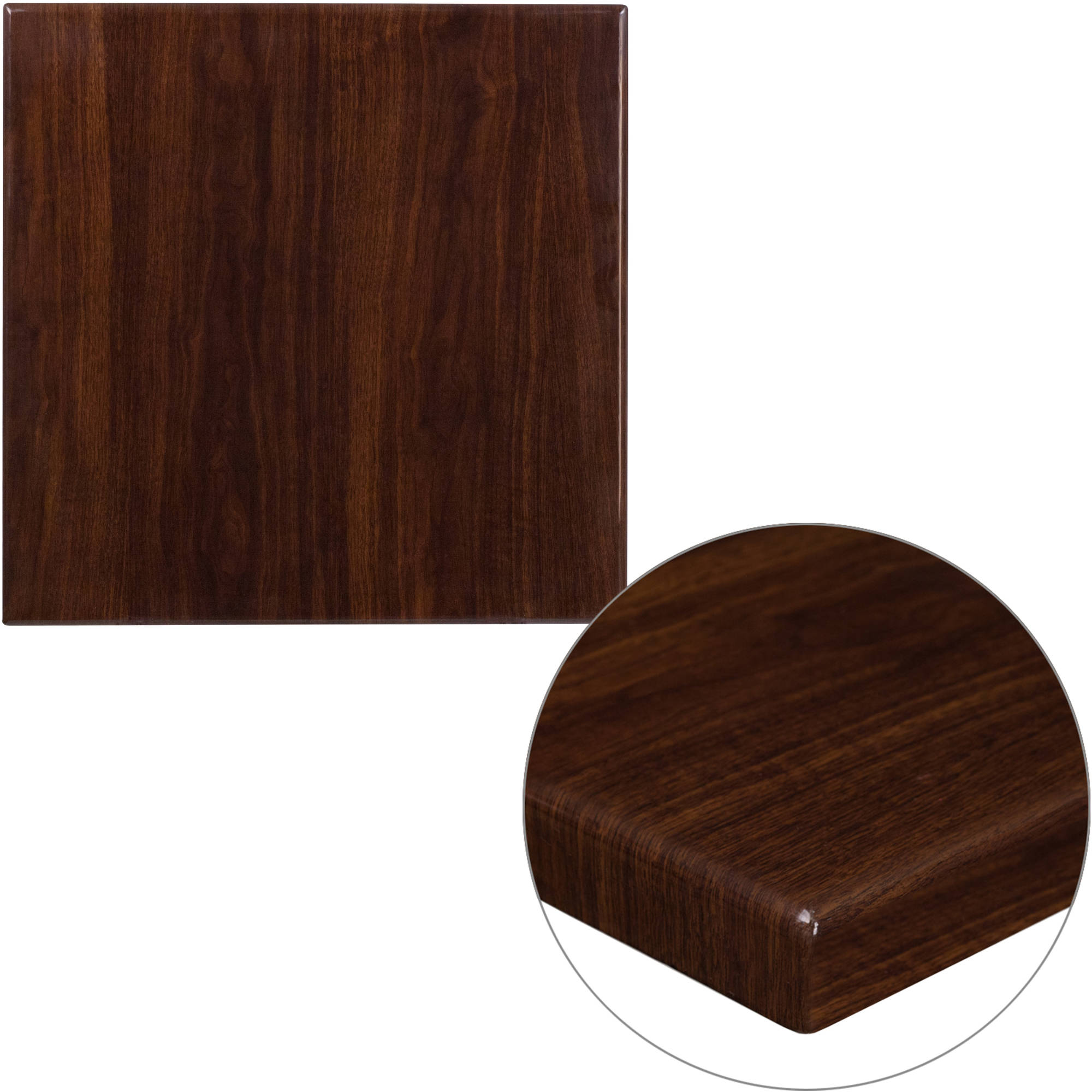 Flash Furniture 24'' Square Resin Table Top, Multiple Colors