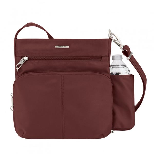 Travelon AT Classic Anti Theft N/S Crossbody Wine