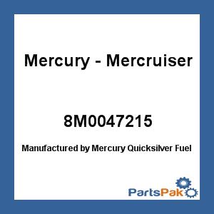 - Mercury - Mercruiser 8M0047215 Mercury Quicksilver 8M0047215: Fuel Module Kit