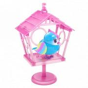 Little Live Pets Lil' Bird & Bird House - New Moving Bird - Rainbow Tweets