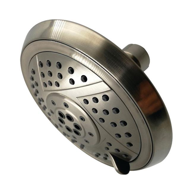 Kingston Brass KX1558 Modern Vilbosch 5 in. 5-Function Shower Head - Brushed Nickel