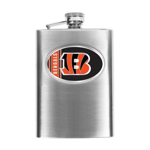 Cincinnati Bengals Stainless Steel Flask - No Size