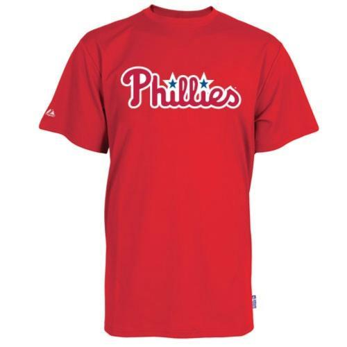 Philadelphia Phillies Replica Baseball Shirt 100% Cool Mesh Fabric - Youth