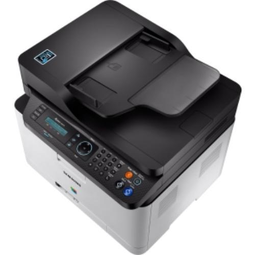 Samsung Xpress Sl-c480fw Laser Multifunction Printer - Color - Plain Paper Print - Desktop - Copier/fax/printer/scanner - 19 Ppm Mono/4 Ppm Color Print - 2400 X 600 Dpi Print - Support (sl-c480fw-xaa)