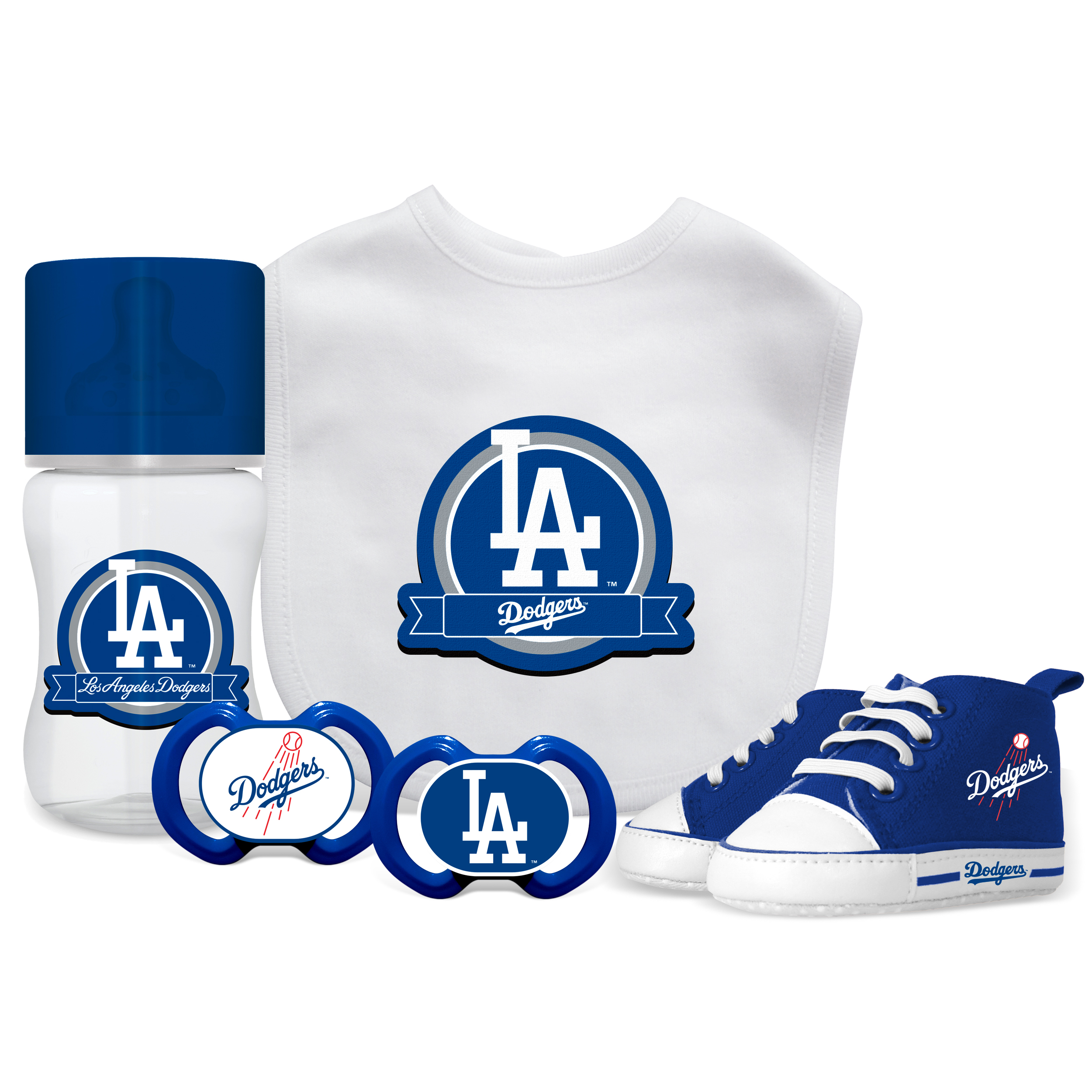 MLB Los Angeles Dodgers 5-Piece Baby Gift Set