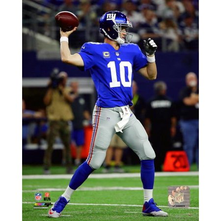 Eli Manning 2017 Action Photo Print