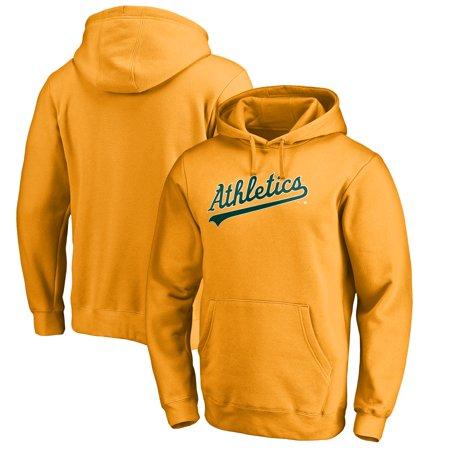 Oakland Athletics Fanatics Branded Team Wordmark Pullover Hoodie - Gold -  Walmart.com 3914172c1