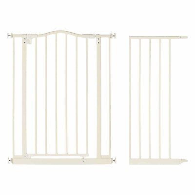 """North States Supergate Portico Arch Baby Safety Gate, Linen + 13.4"""" Extension [Istilo259250] by See Description"""