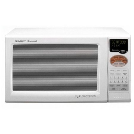 Sharp Double Grill Convection Countertop Microwave Color White