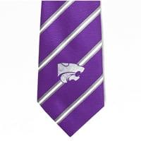 NCAA Kansas State Stripe Tie