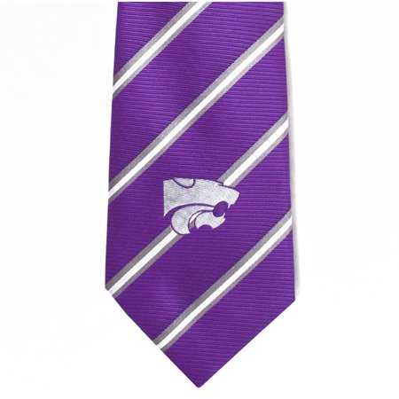 NCAA Kansas State Stripe Tie Ncaa Kansas State Wildcats Pattern