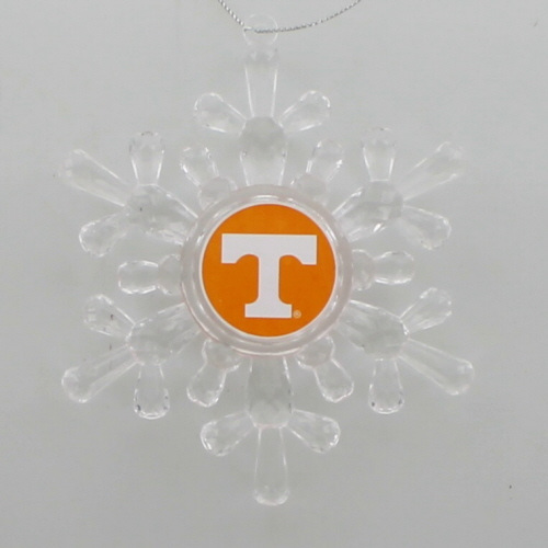 NCAA/TN Snowflake Ornament