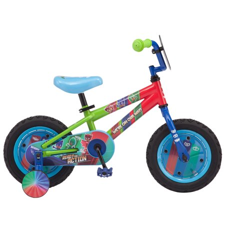 Pj Masks on Disney Junior, Catboy, Owlette, Gekko, Kids' Bike, 12