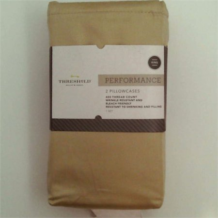 Performance Solid Pillowcase 400 Thread Count - Threshold