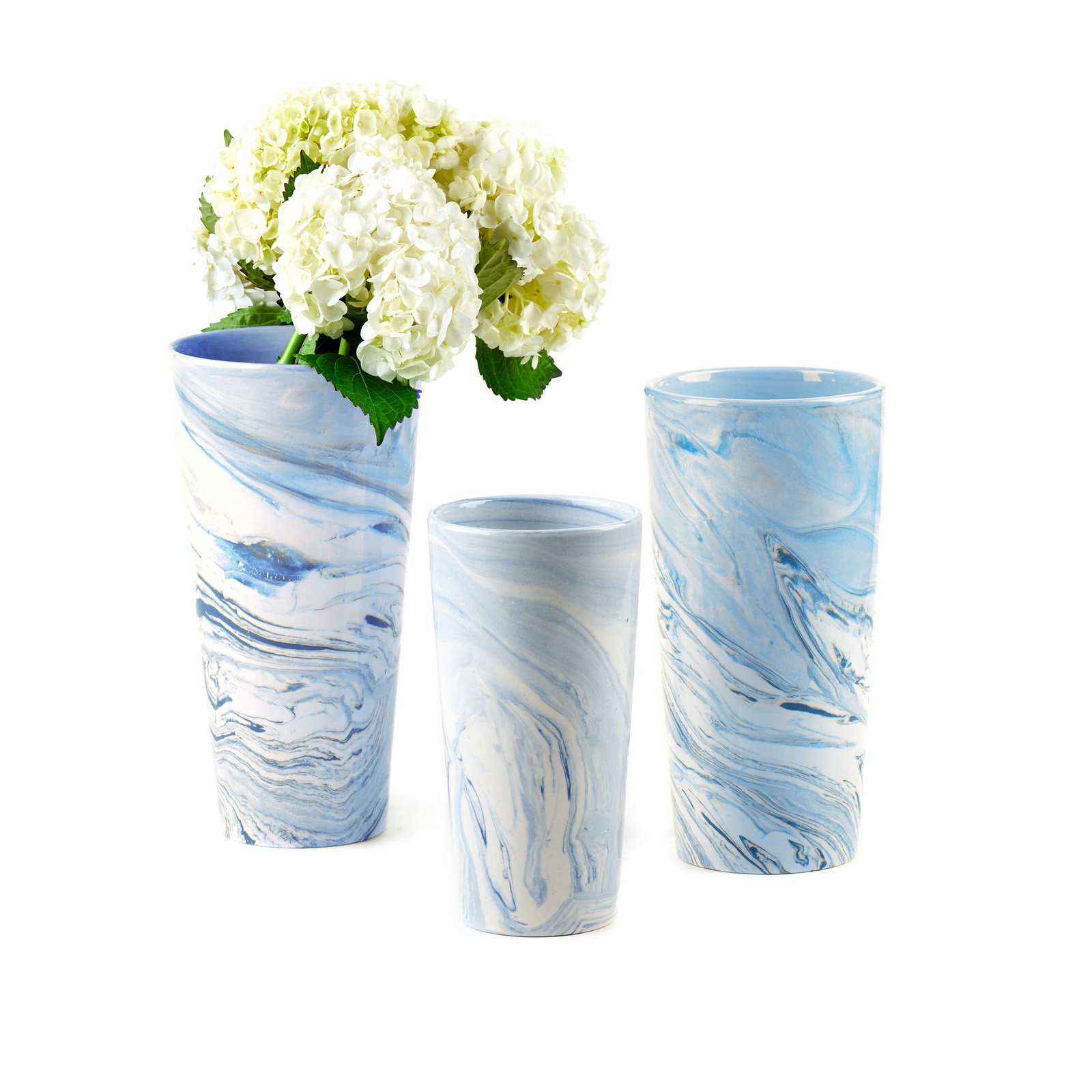 Passport Collection Terre Melee Tall Vase - Set of 3