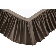Carrington Bed Skirt by VHC Brands
