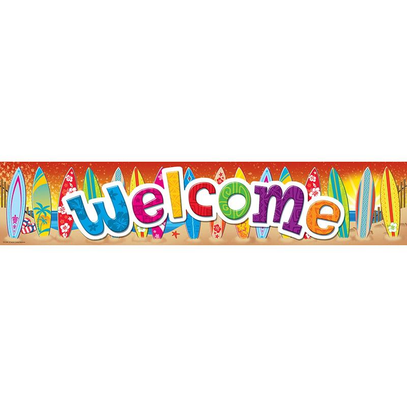 Surfs Up Welcome Banner - image 1 de 1