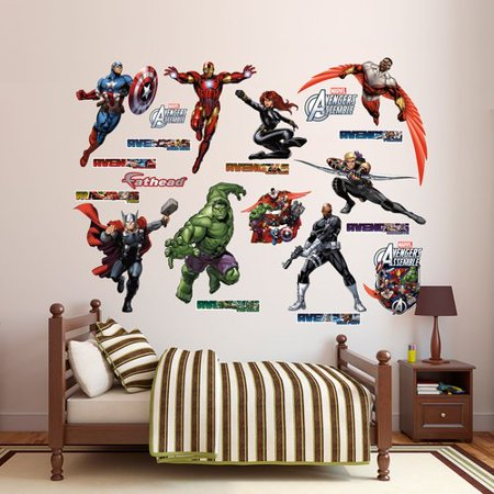 Fathead avengers assemble collection for Avengers wall mural amazon