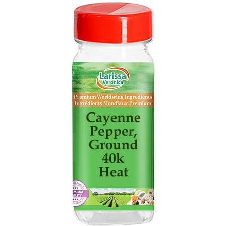 Cayenne Pepper, Ground 40k - Heat (8 oz, ZIN: