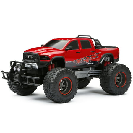 New Bright 1:12 Scale Radio Control 4x4 Ram Trx Truck - -