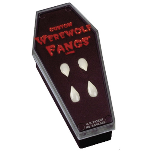 Fangs Werewolf in Coffin Halloween Accessory