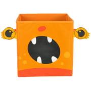 Nuby Monster Folding Storage Bin, Orange