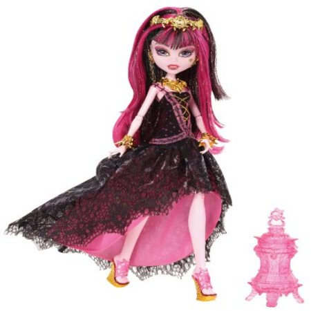13 Wishes Dolls (Monster High 13 Wishes Haunt the Casbah Draculaura)