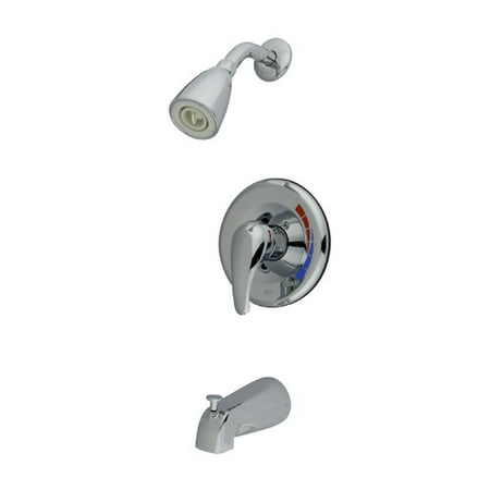 Kingston Brass Chatham Single Handle Tub and Shower Faucet