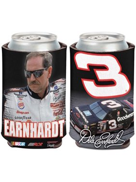 Dale Earnhardt WinCraft 12oz. Car, Name & Number Can Cooler