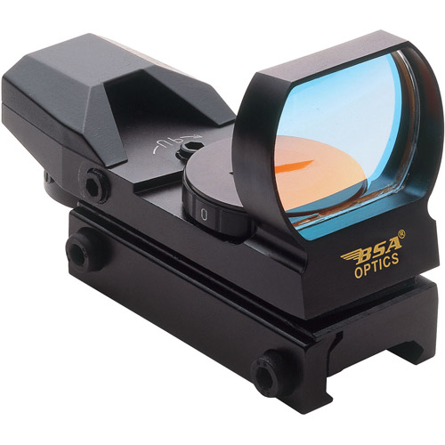 BSA Panoramic Red and Green Multiple Reticle Sight