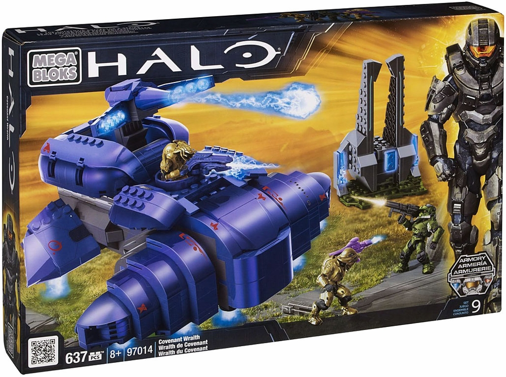Mega Bloks Halo Covenant Wraith Set #97014 by Inmyparentsbasement.com
