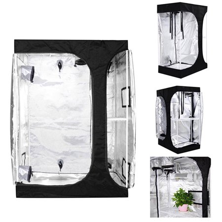 Yescom Reflective Mylar Hydroponics Grow Tent Room Flower Vegetable Planting Propagation Indoor (Flower Tent)