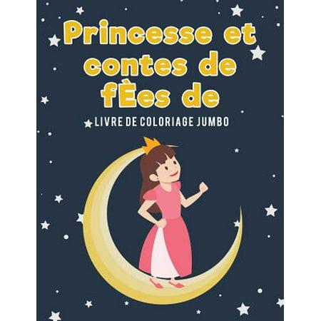 Princesse Et Contes de F�es de Livre de Coloriage Jumbo](Coloriage Horreur Halloween)