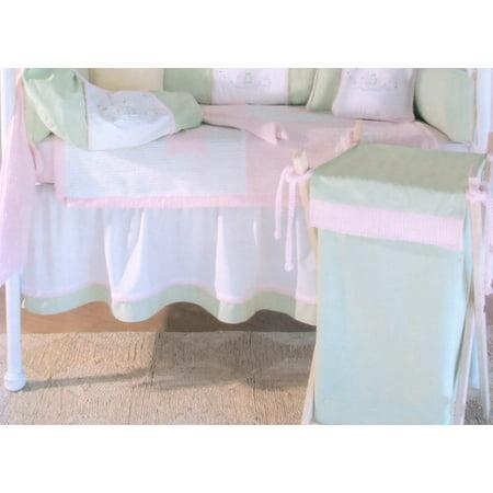 Brandee Danielle Froggie 3 Piece Crib Bedding Set