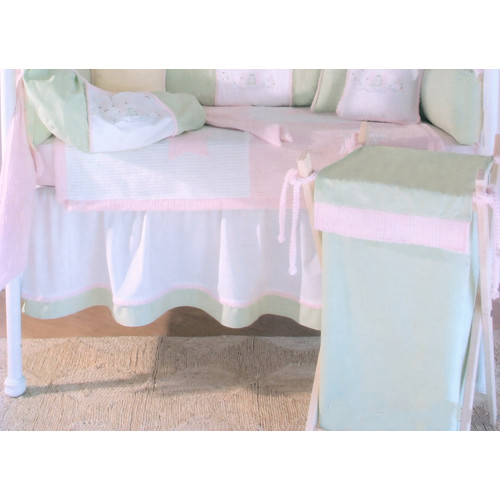 Brandee Danielle Froggie 3 Piece Crib Bedding Set