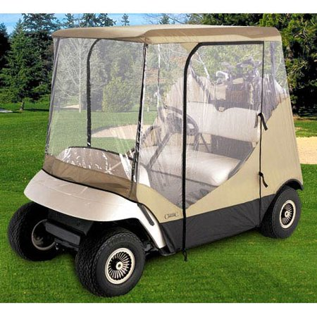 Classic accessories fairway travel four sided golf cart for Golf cart plans