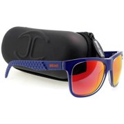 Jc648s-92L-54 Square Blue Scale Pattern Sunglasses