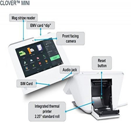 New Clover POS Mini (Open a Merchant Account with NOVAPAY is